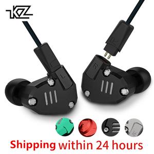 Original KZ ZS6 Noise Cancelling Stereo Music Headphone Earphone
