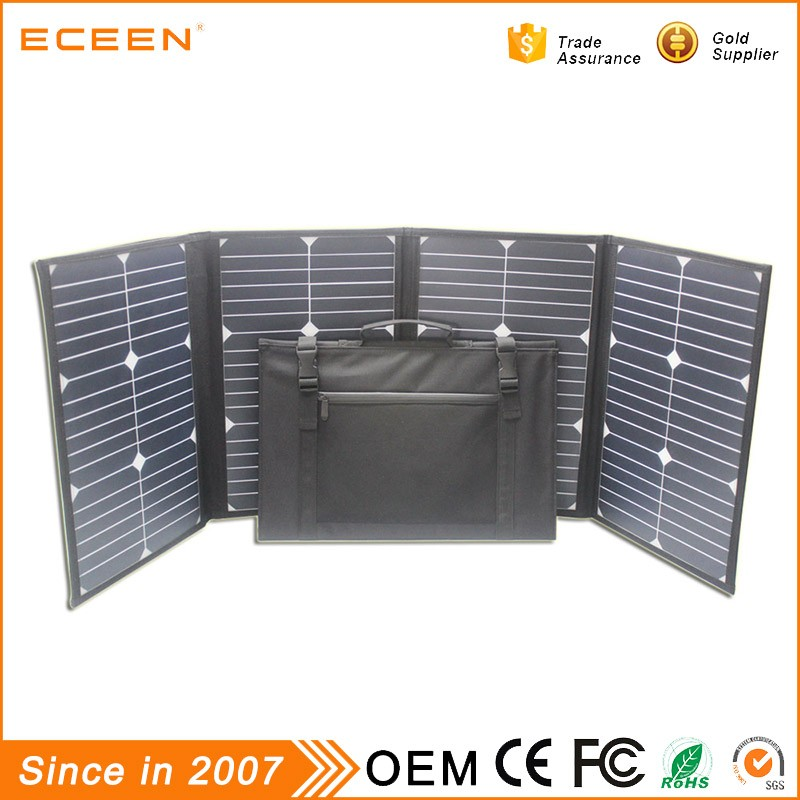 2017 High quality 80W sunpower portable pv solar panel for laptop mobile phone