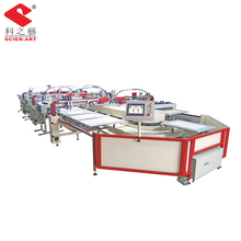 automatic oval screen printing machine for T-shirt 6-16 colors