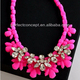 NECKLACE / CRYSTAL/ NEON COLOR /HOT STYLE