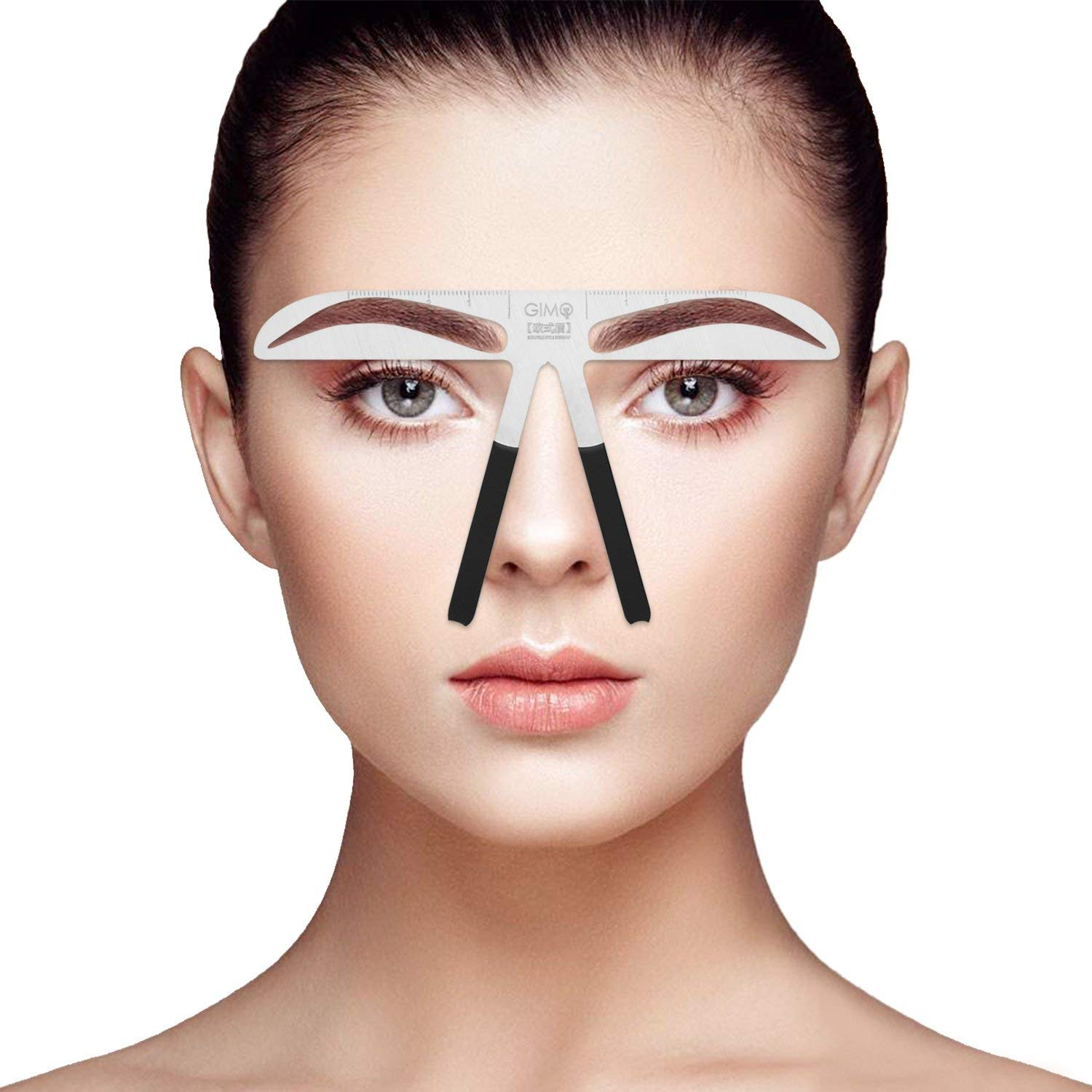 Professional Eyebrow Stencil Ruler For Eyebrows Measuring Permanent Makeup Tools(5)