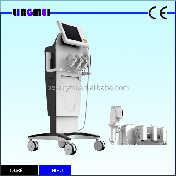 LINGMEI Beauty Salon FU4.5-3S HI FU High Intensity Focused Ultrasound HIFU Face Lift Ultra Age HIFU Machine