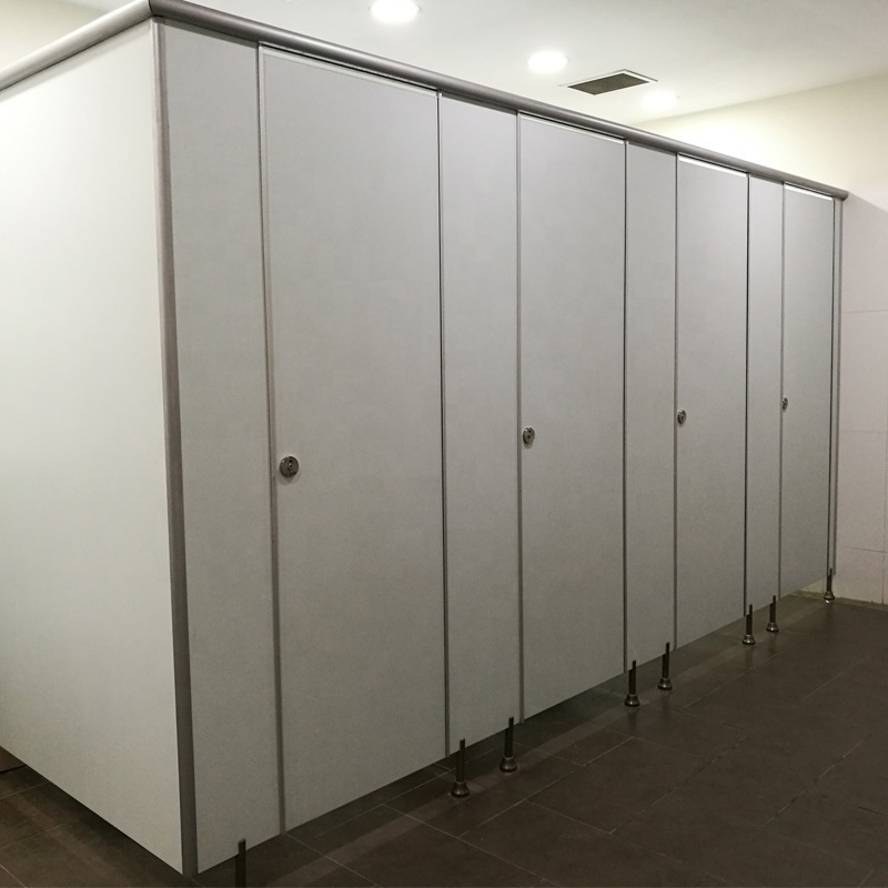 HPL laminate commercial bathroom partitions waterproof