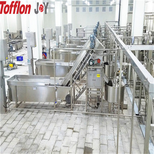 Complete set coconut milk production line