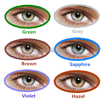 Hot Selling Eos Korea Contact Lens 14.5mm 7 Colors Luna G-322 3 ...