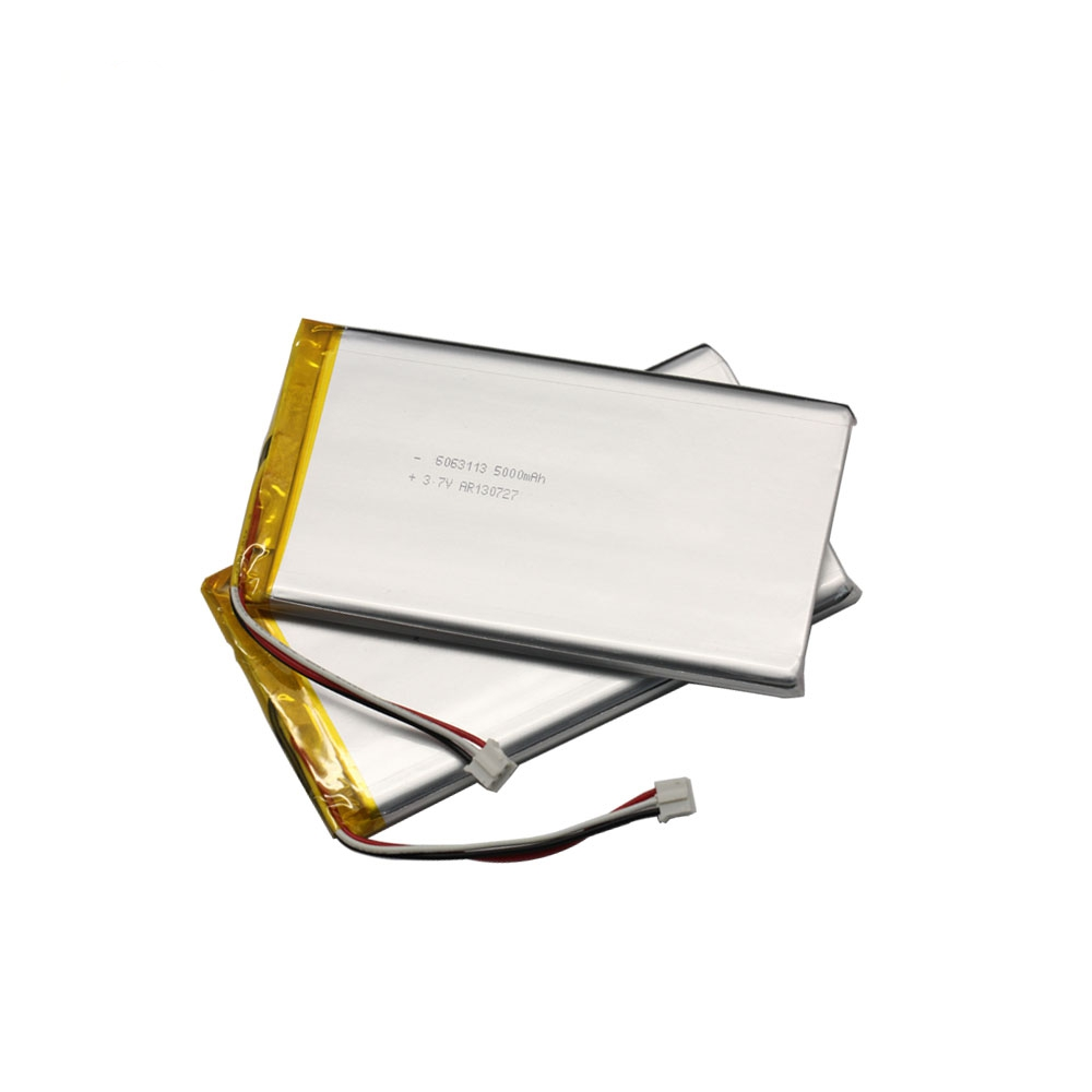 6063113 3.7V 5000mAh Li ion Battery for tablet