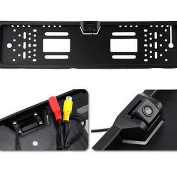 Europe number plate frame license plate Car backup reverse Waterproof camera for European markets