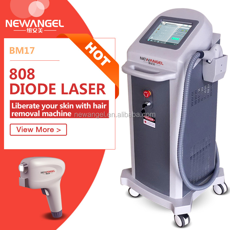 808nm diode laser hair removal equipment / 808nm diode laser photon hair