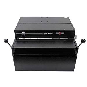 """Rhin-O-Tuff HD7000 Onyx 14"""" Open-Ended Table Top Electric Punch"""