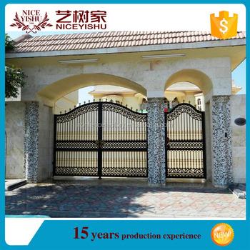 2016 Newest Ornamental Small Aluminum Gate/china Supplier Aluminum ...