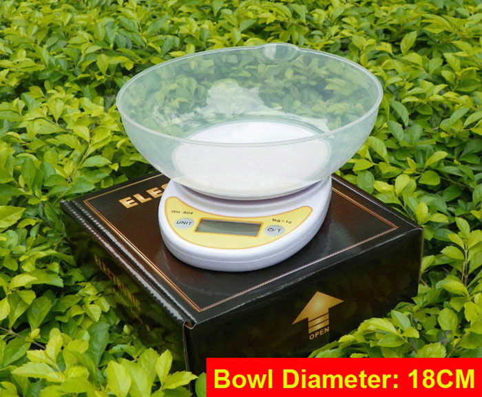 5kg/1g Digital Postal Cooking Food Diet Grams Kitchen Scale