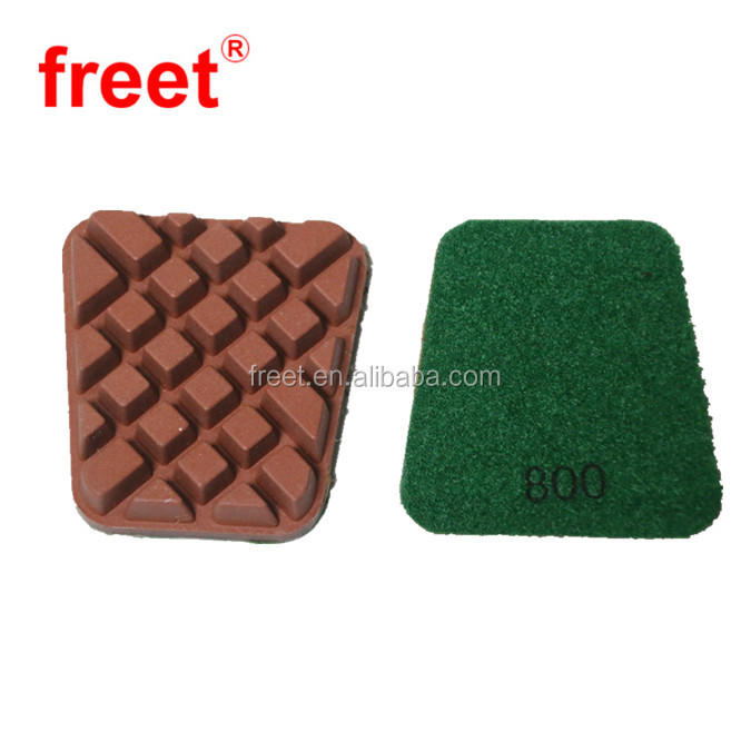 3 Resin Pad With Semi Metal Hybrid Diamonds Polishing Pads For Concrete Or Terrazzo Floor Buy Floor Pads Resin Floor Pads Diamond Floor Pad Product