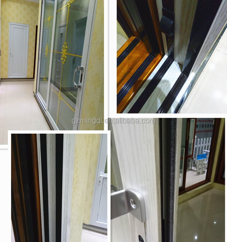 China supplier aluminium hinge glass door for house entrance