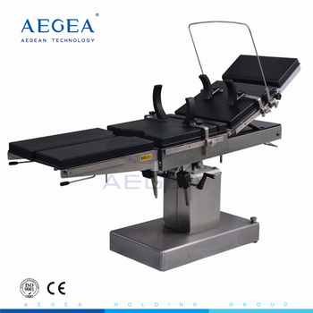 AG-OT015 manual hydraulic control system medical surgery hospital instrument used hospital operating theater table