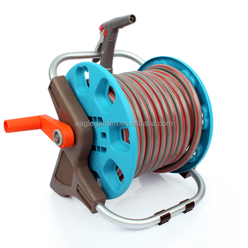 Good quality 30 meter PVC garden hose reel set for small or medium garden use  sc 1 st  Alibaba : hose reel set - www.happyfamilyinstitute.com