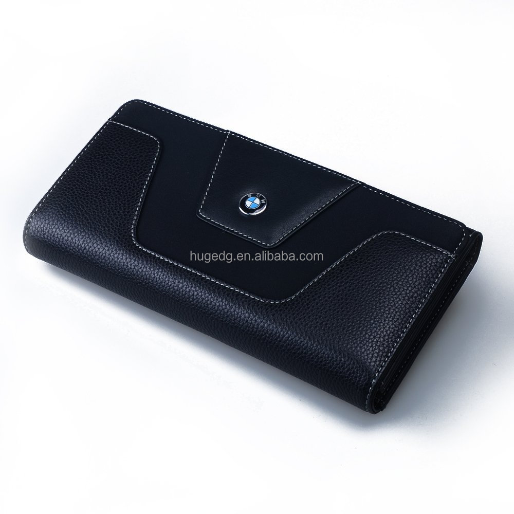 Leather car clutch bag for business men