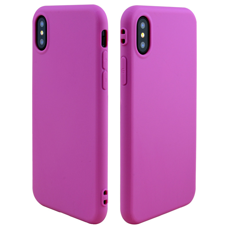Candy color for iphone 6 7 8 X XR XS MAX silicone case, for apple iphone 6 Silicon Back Skin, for iphone 6 Slim Back Cover Case