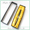 Simple and beautiful black EVA Yellow inner cloth Heaven and Earth cover promotional pen paper pencil box