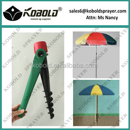Kobold Plastic Beach Umbrella Drill Anchor Product On Alibaba