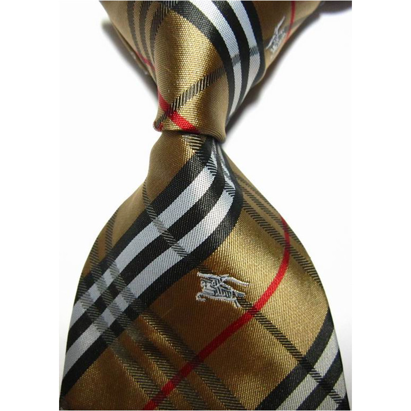 9c47aca18cf Get Quotations · New Arrival Vestido Gravata Gold Striped Animal Silk Woven  Necktie Business Casual Knit Men s Brand Ties