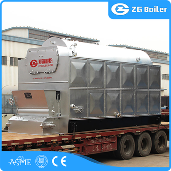 2t-10t Chain Grate Travelling Grate Coal Fired Boiler Types In ...