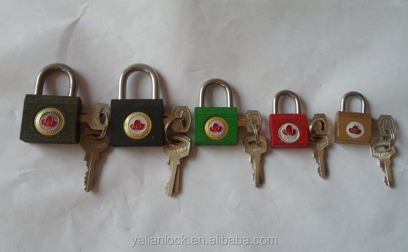 Good Quality Open Side Iron Padlock With All Kind Of Different Colors