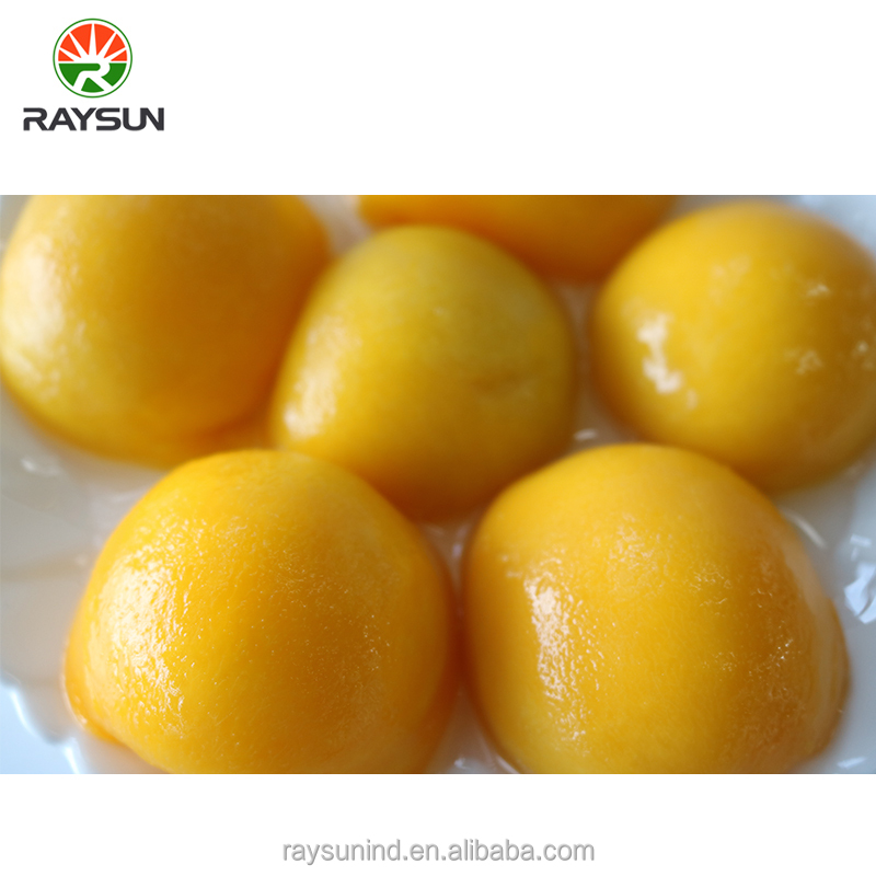 Low price canned yellow peach in heavy syrup