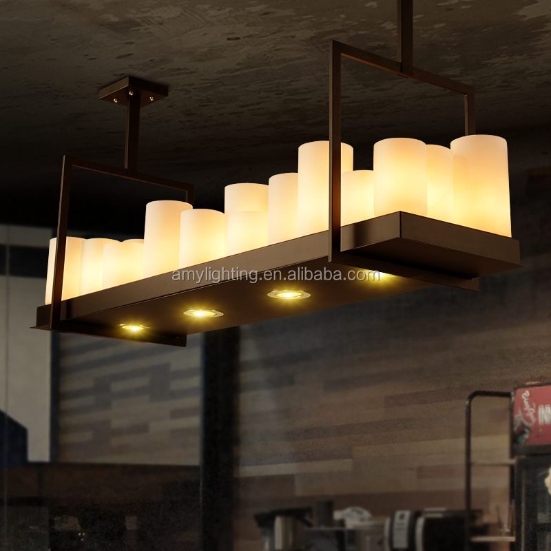 Modern Candle holder Altar by Kevin Reilly pendant lamp