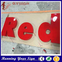 good visual acrylic channel letter for stores