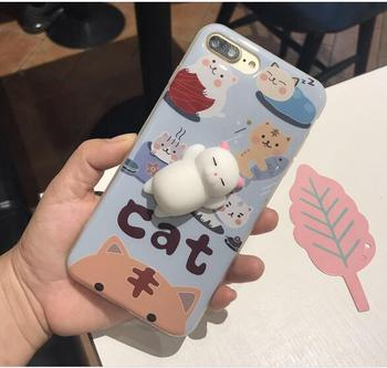 the best attitude f7000 a064f Wholesale 3d Animal Tpu Phone Case Soft Silicone Slow Rising Squishy Cat  Toys Phone Case For Iphone 7 8 - Buy Squishy Cat Case,Slow Rising Squishy  ...