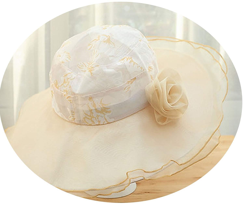 84af7602 Get Quotations · Korean Fashion UV Protection Korean Ladies Hat Sun Hat  Flower Sun Hat Sun Hat Big Hat