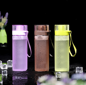 Wholesale Factory Clear Customized Travel Protable Drinking Plastic Sport Water Bottle