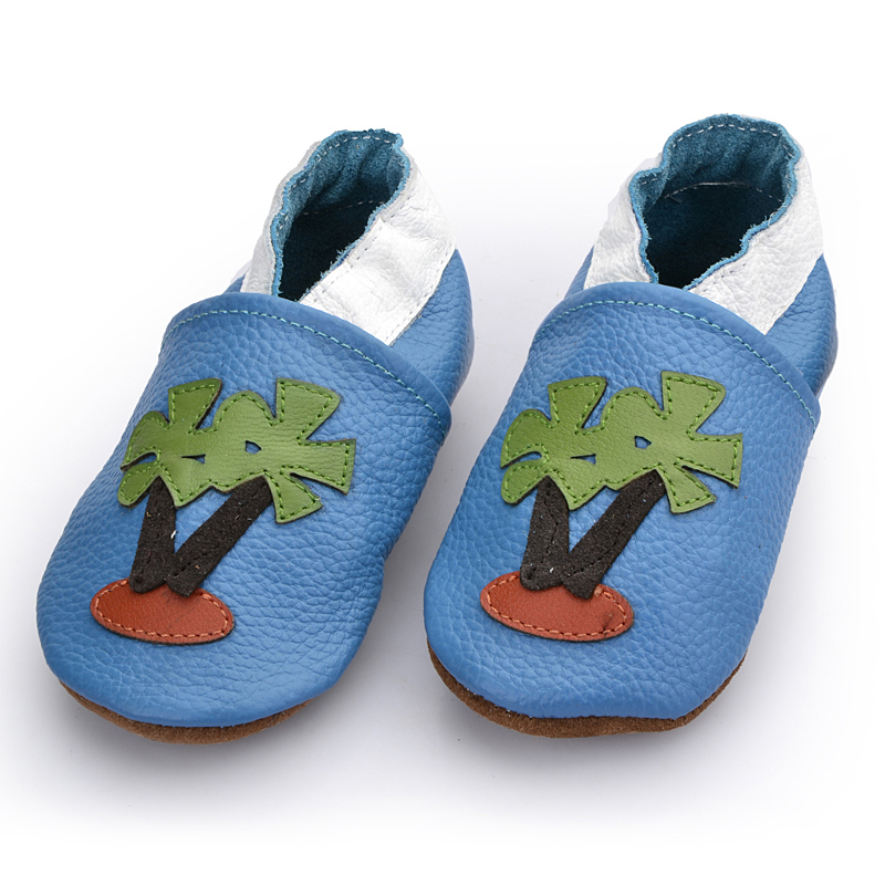 First top layer of leather baby first walkers baby shoes flower prewalker toddler wholesale soft the beauty of nature and plants