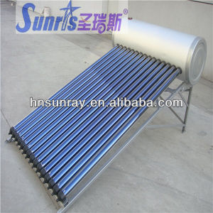 China manufacture pressurized vacuum solar collector