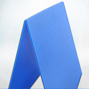2mm, 4mm 6mm 8mm 10mm blue corrugated plastic sheet pp hollow core plastic sheets / board