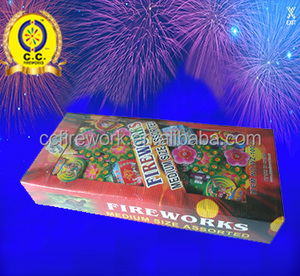 hot sale Assorted Box (M) 1.4g un0336 all types of fireworks for sale