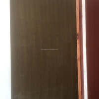 Mahogany / beech / ash / oak / dark walnut veneer plywood flush door plywood door