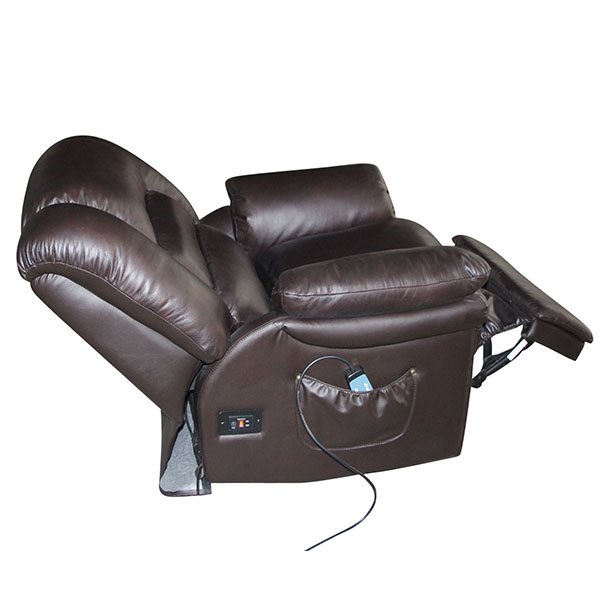 Swivel Rocker Recliner Chair Electric Lift Leahter Rocking