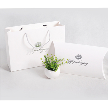 Custom Private Logo luxury clothes gift pillow packaging box