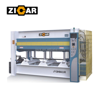 100t Hydraulic Hot Press Machine For Door Woodworking Use