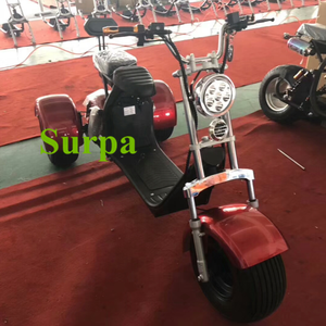 2019 new 1000w 1500w two seat removable battery 3 wheel electric scooter/tricycle/golf motorcycle
