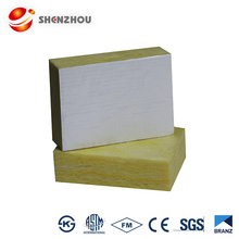 50mm thick glass wool internal duct insulation for acoustic insulation