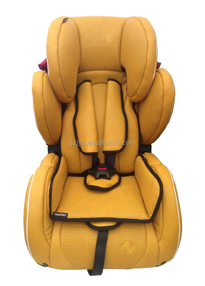 501a Vip Leather Baby Car Seat For Infant Safety