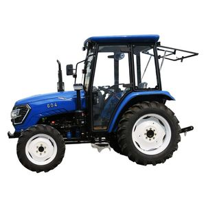 electric tractor 604 60hp 4WD wheel-style farm tractor for hot sale