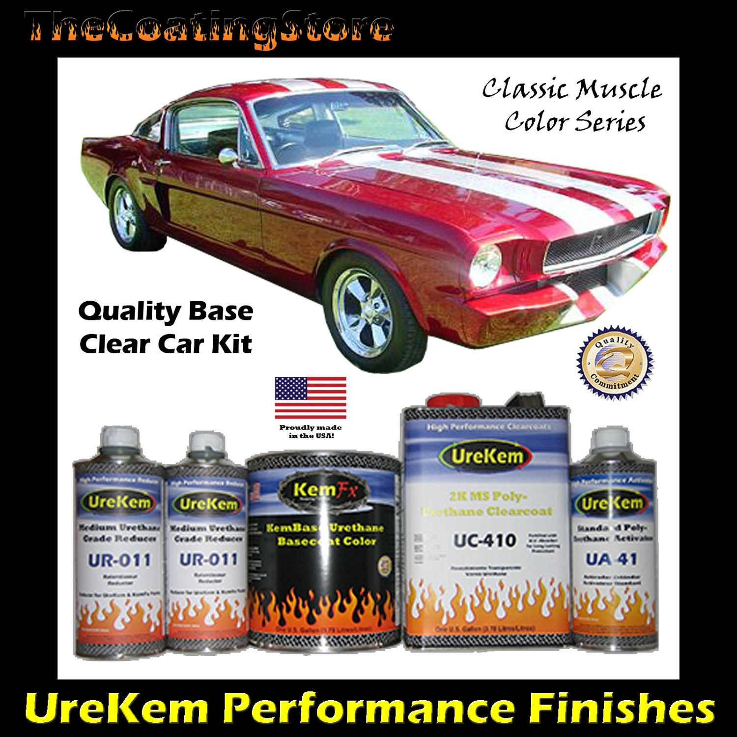 Buy Classic Candy Apple Red Car Paint Basecoat Clearcoat