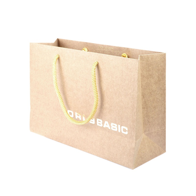 Unique Recycled Paper Bag With Logo Print
