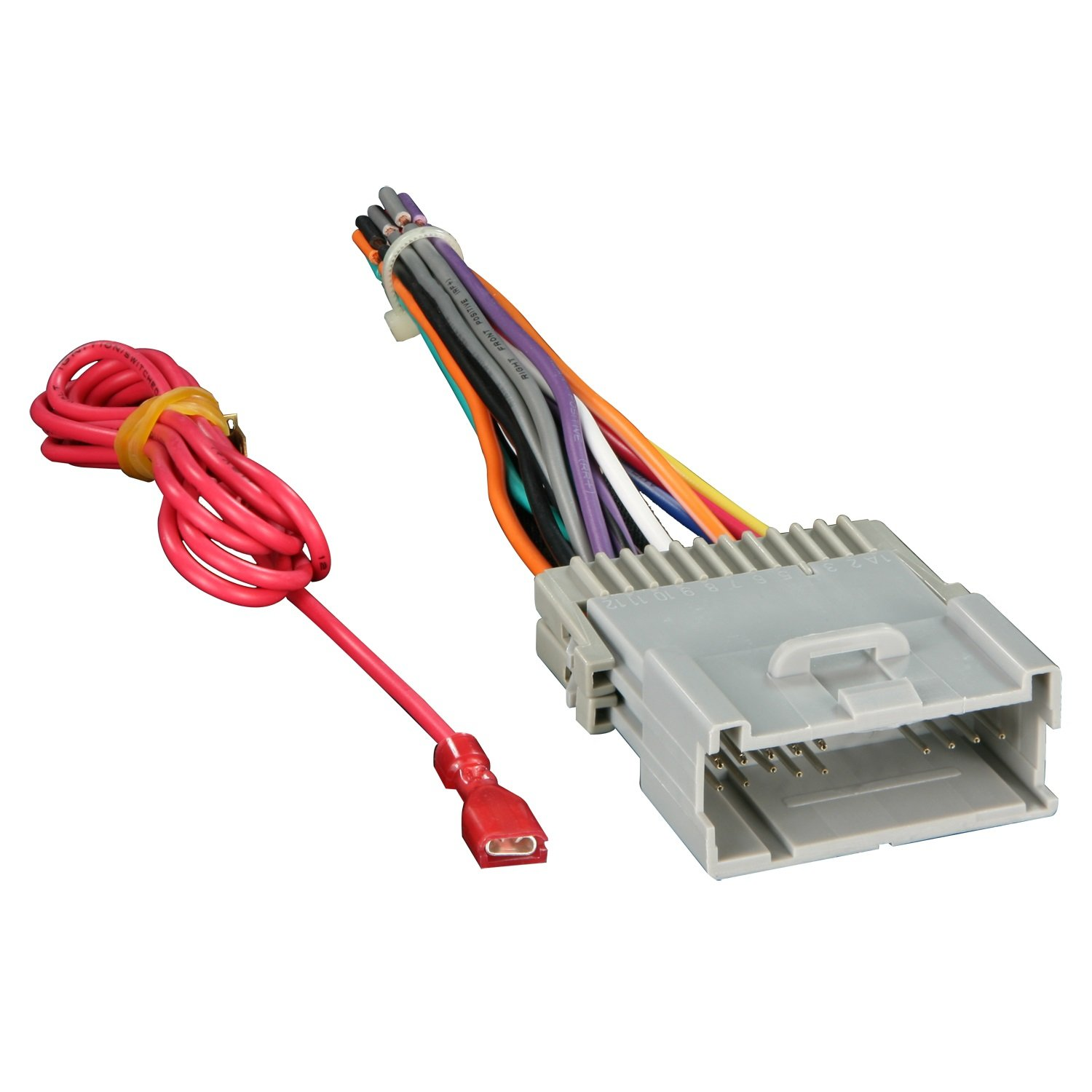 Get Quotations · Metra 70-2003 Radio Wiring Harness For GM 98-08 Harness