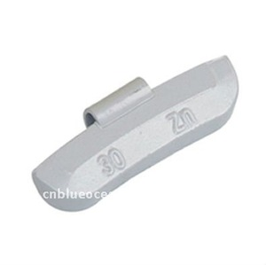 Factory supply Zn clip balance steel adhesive wheel weights