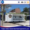 counter glass house design demountable ready made mobile container food coffee shop bar
