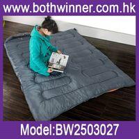 Canvas sleeping bag ,h0t025 economic sleeping bags , camping hiking w/carrying bag sleeping bag